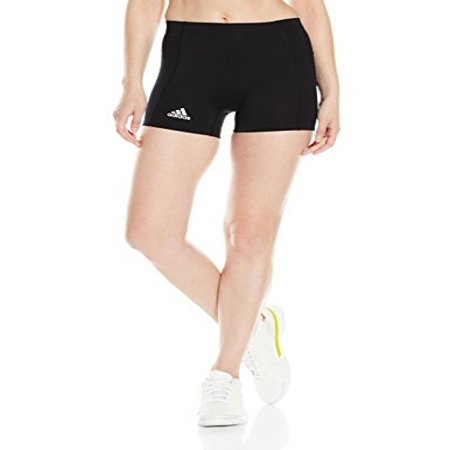 adidas Womens Volleyball 4 inch short Tight, black, Medium (Adidas Modelle)