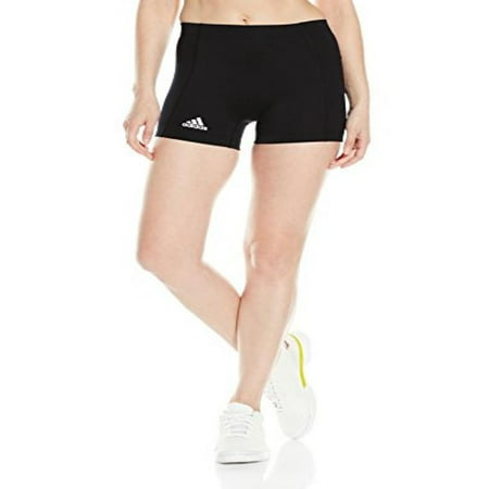 adidas Womens Volleyball 4 inch short Tight, black, (Recovery Short Tight)