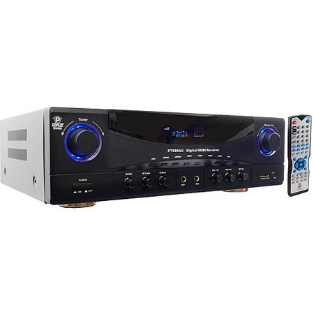 Pyle 5.1 CH Amp with Built-In AM/FM Radio/USB/SD Card