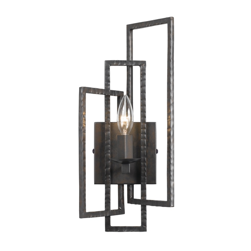 Crystorama 331-RS One Light Wall Sconce by Crystorama