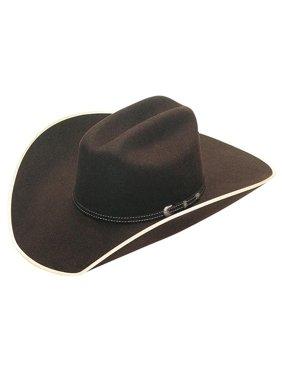 Twister T7527075-7.25 Adult Ruidoso Western Hat, Tan & Brown - Size 7.25