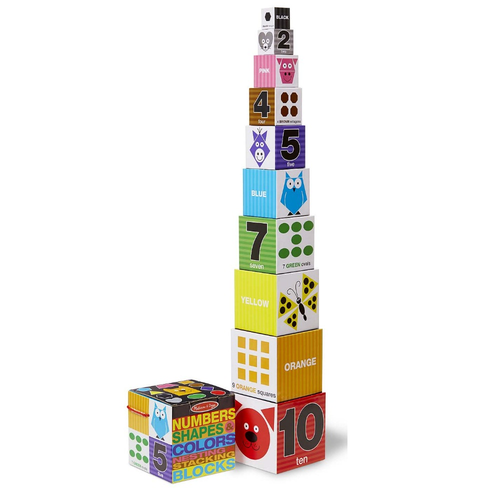 Melissa & Doug Nesting & Stacking Blocks by Melissa %26 Doug