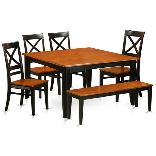 Wooden Importers Parfait 6 Piece Dining Set