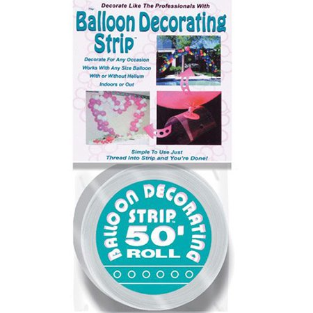 50Ft Balloon Decorating Strip (Each) - Party Supplies