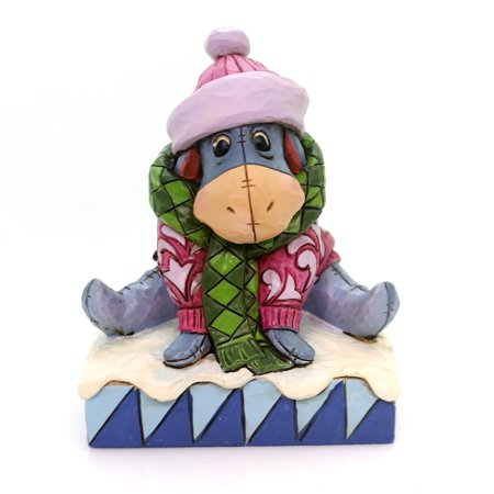 Jim Shore Spring - Jim Shore WAITING FOR SPRING Polyresin Eeyore Winter Snow Disney 4057940