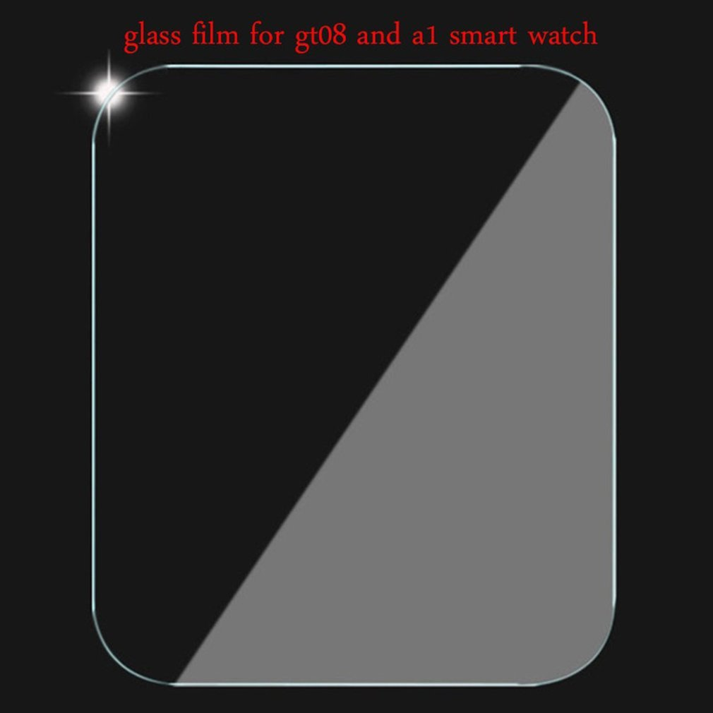 Smart Watch Screen Protector Ultra Thin PET Anti-scratch Screen Cover  Protective Front Film for GT08 Watch