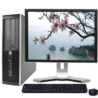 "HP Elite/Pro Windows 10 Desktop Computer Intel Core i7 3.4GHz Processor 4GB RAM 1TB HD Wifi with a 19"" LCD Monitor Keyboard and Mouse - Refurbished PC with a 1 Year Warranty"
