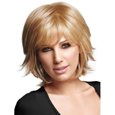 DAISY FUENTES CHIC LAYERS SYNTHETIC WIG, BLACK - Wig Brush