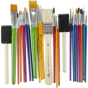 ROYAL BRUSH Langnickel 25-Piece Brush Value Pack, Assorted Sizes