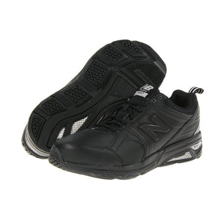 New Balance Men's MX857 Cross-Training Shoe,Black,7.5 4E US