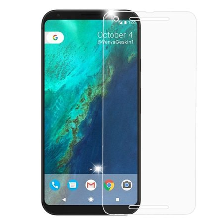 Valor Map - Valor Clear Tempered Glass Screen Protector LCD Film Guard Shield for Google Pixel 2