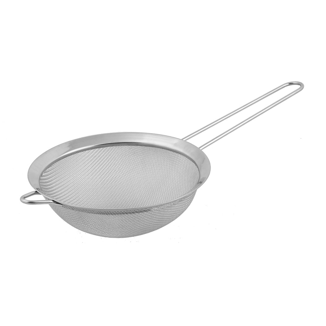 Click here to buy Unique BargainsKitchen Metal Food Noodle Flour Mesh Strainer Colander Sieve Sifter Silver Tone.