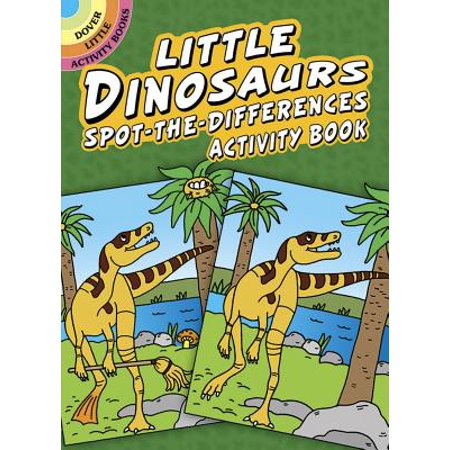 Little Dinosaurs Spot-The-Differences Activity Book](Little Dino)