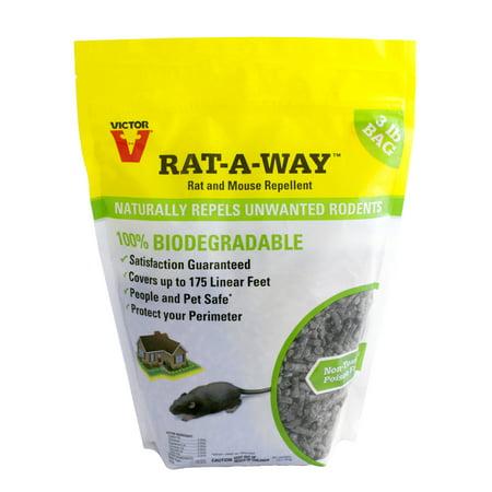Victor Rat-A-Way Rat Repellent (Best Electronic Rat Repellent)