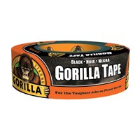 Deals on Gorilla Black Tape 35 yd. 6035181
