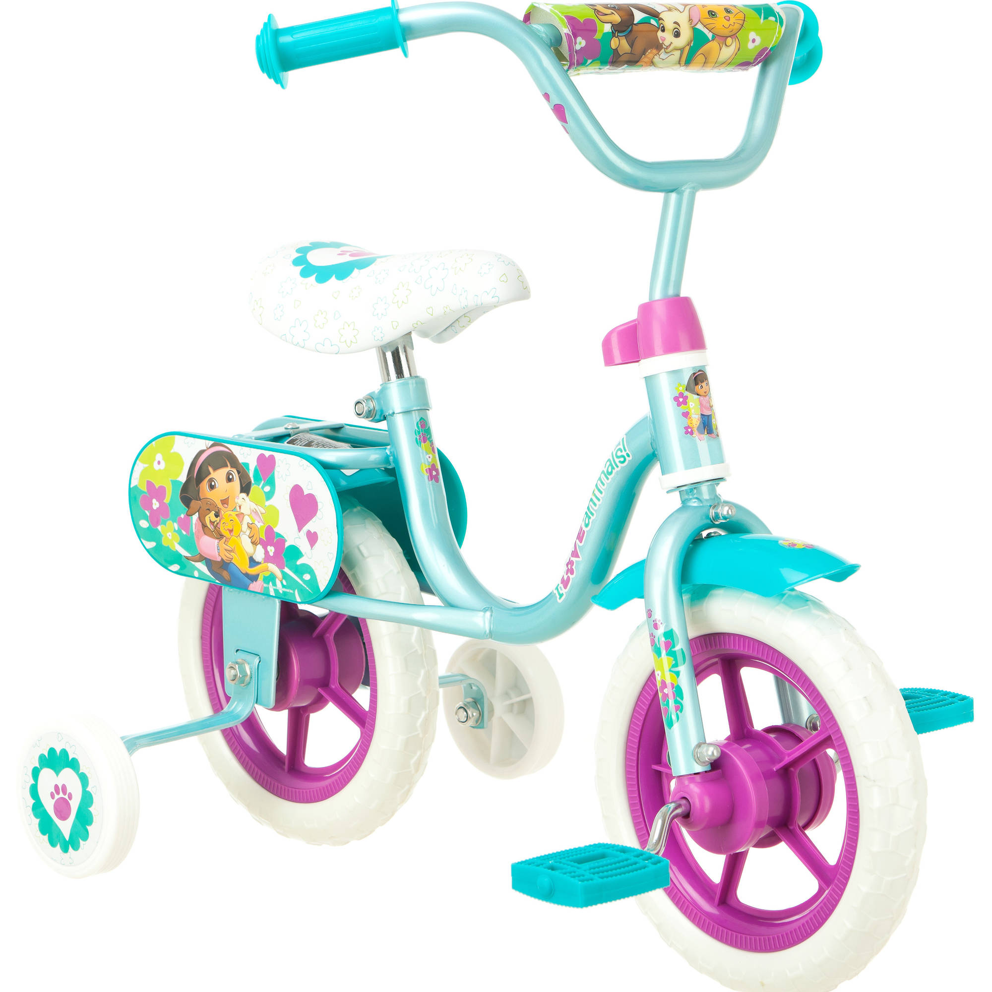 "10"" Girl's Dora the Explorer Puppy Pals Bike by Pacific Cycle"