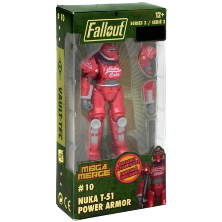 Fallout Series 2 Nuka T-51 Power Armor Buildable Figure