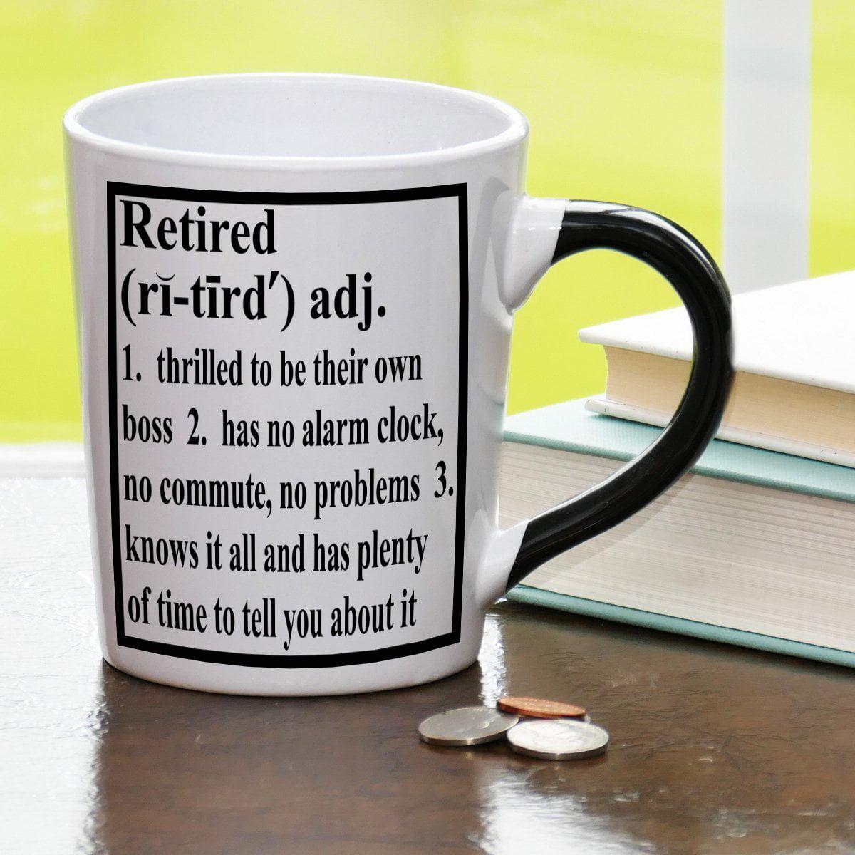 Tumbleweed Retired Definition Occupational Mug
