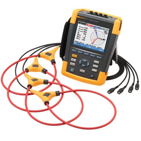 - Fluke 434-II Series II Three-Phase Energy Analyzer
