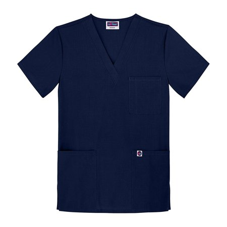 Sivvan Unisex Scrubs V-Neck 3 Pocket Top (Available in 12 Colors)