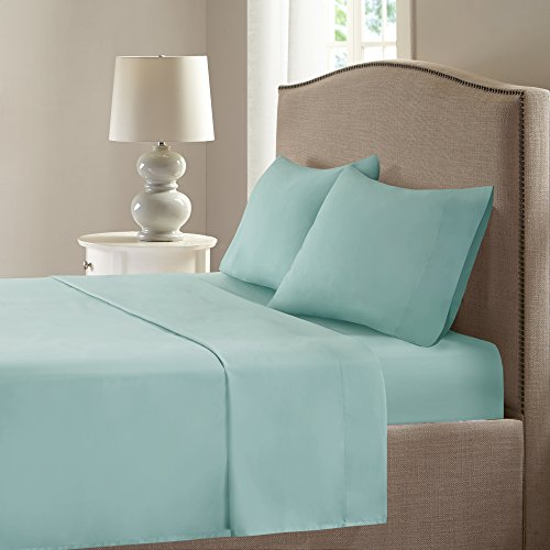 Microfiber Smart Cool Sheets Set   CoolMax Fabric Blended For Moisture  Wicking  4 Piece