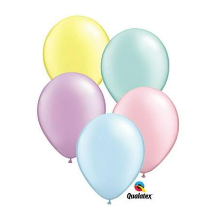 "Burton & Burton 16"" Pastel Pearl Asst Balloons, Pack/50"