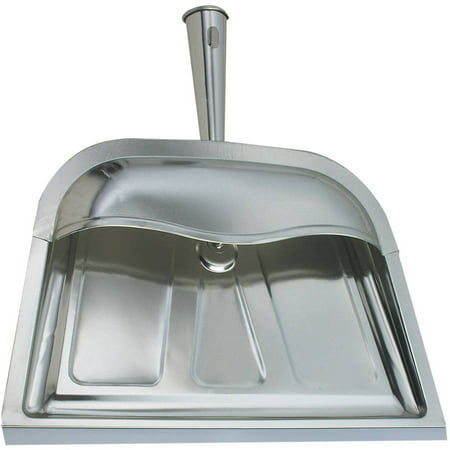Range Kleen Silver Dust Pan, Hooded (Automatic Baseboard Dust Pan)