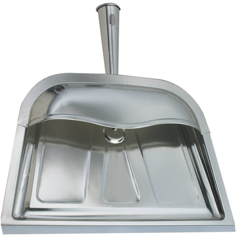Range Kleen Silver Dust Pan, Hooded