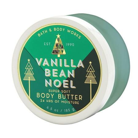 Vanilla Body Butter (Bath & Body Works Vanilla Bean Noel 6.5 oz Super Soft Body)