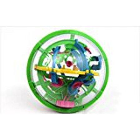 3D Intellect Maze Ball Best Gift Independent Play for Children 7-15 Years Diameter 4.4` Containing 100 Challenging Barriers(Colors (Gamesradar 100 Best Games)