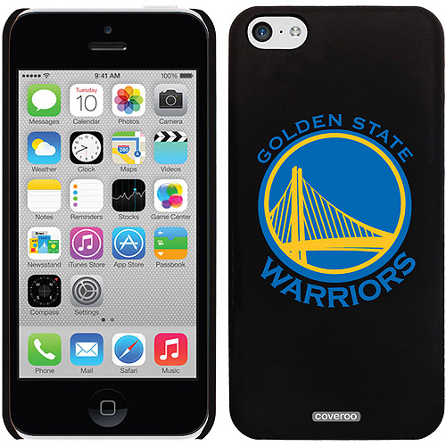 Golden State Warriors Logo Design on iPhone 5c Thinshield Snap-On Case by Coveroo