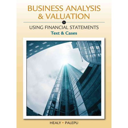 Business Analysis   Valuation  Using Financial Statements  Text And Cases  With Thomson Analytics Printed Access Card