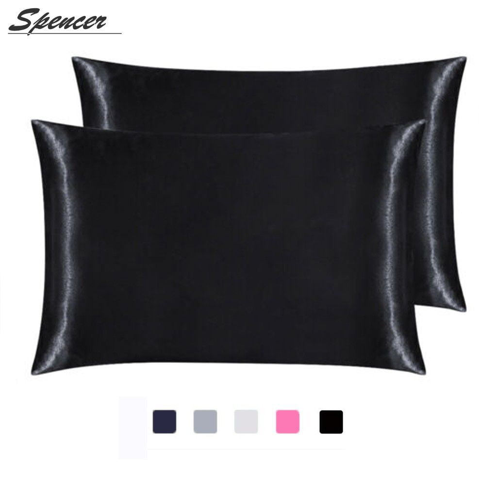 Spencer Set Of 2 Satin Silk Pillowcase For Hair And Skin