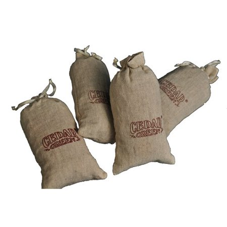 Cedar Green Aromatic Cedar Sachets (Set of 12) ()