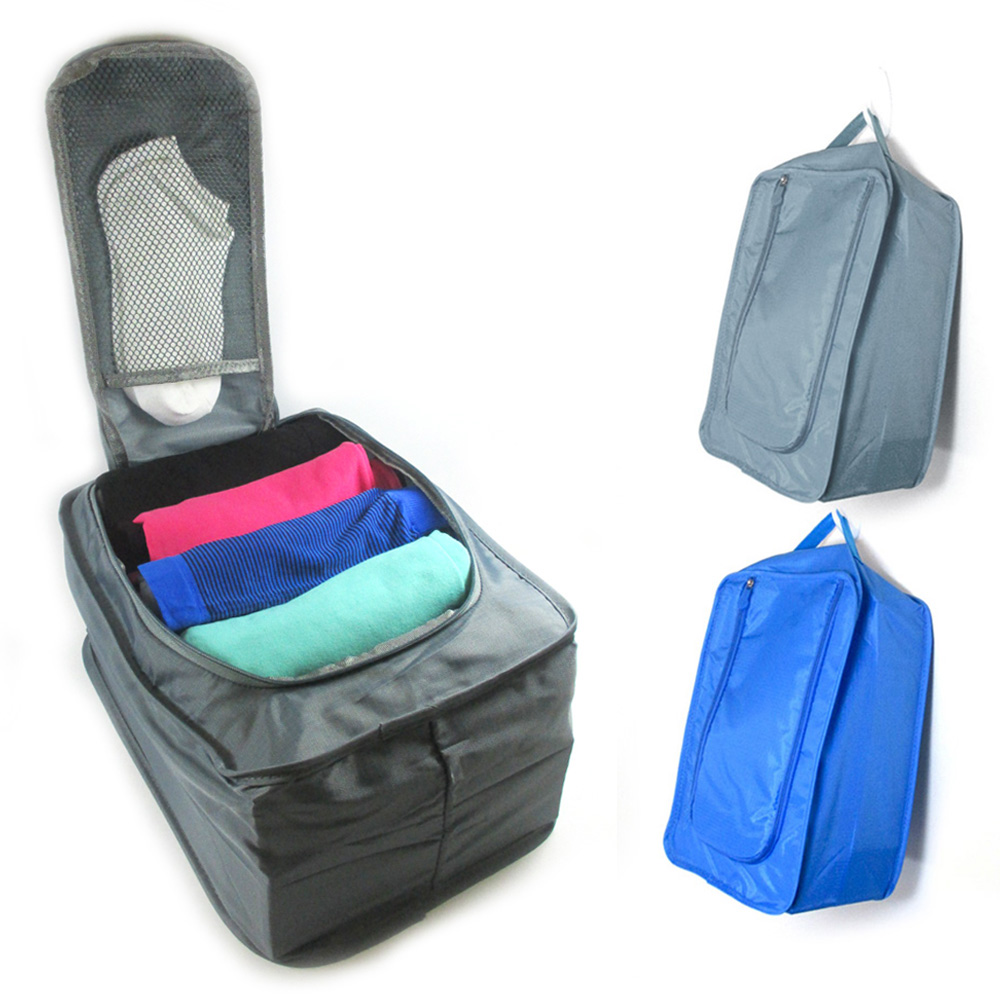 1 Portable Waterproof Travel Clothes Bags Cubes Packing Organizer Pouch Luggage