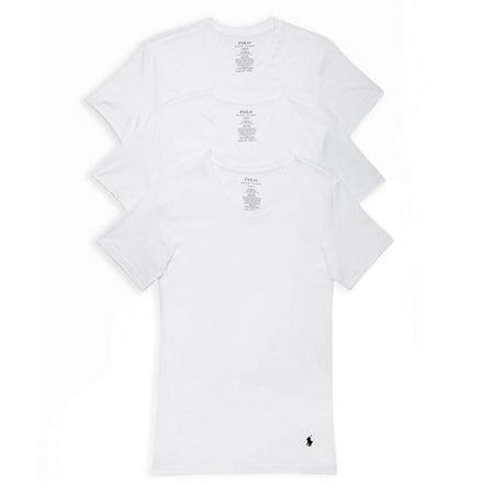 3 Shirt T Pack Polo Lauren Slim Cotton Ralph Fit cAj3LR54qS