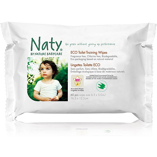 Nature Babycare - Toddler Flushable Wipe