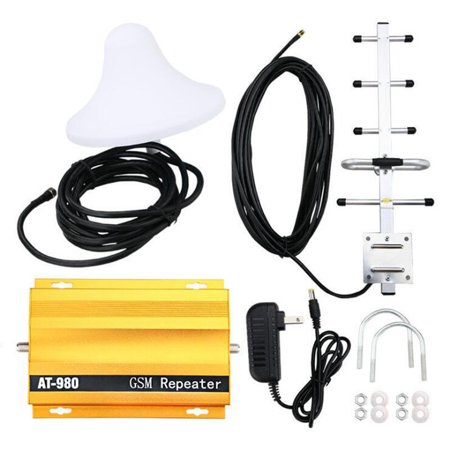 AT980 Mobile Phone Signal Booster Cell Phone 2G GSM900MHz Signal Repeater for Home Amplifier Complete