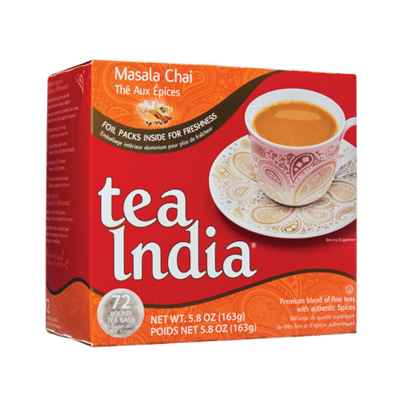 Chai Moments Tea India 72 Masala
