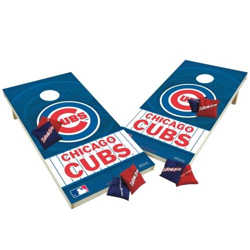 TTXL Shield Design 1MLB Chicago Cubs Bean Bag Toss Game