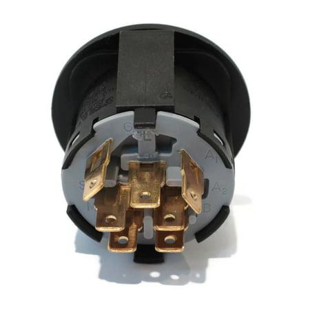 Pontiac Firebird Ignition Starter Switch (IGNITION STARTER KEY SWITCH fits MTD 13B4516N190 13BO616G190 13BT616H190 Mower by The ROP Shop )
