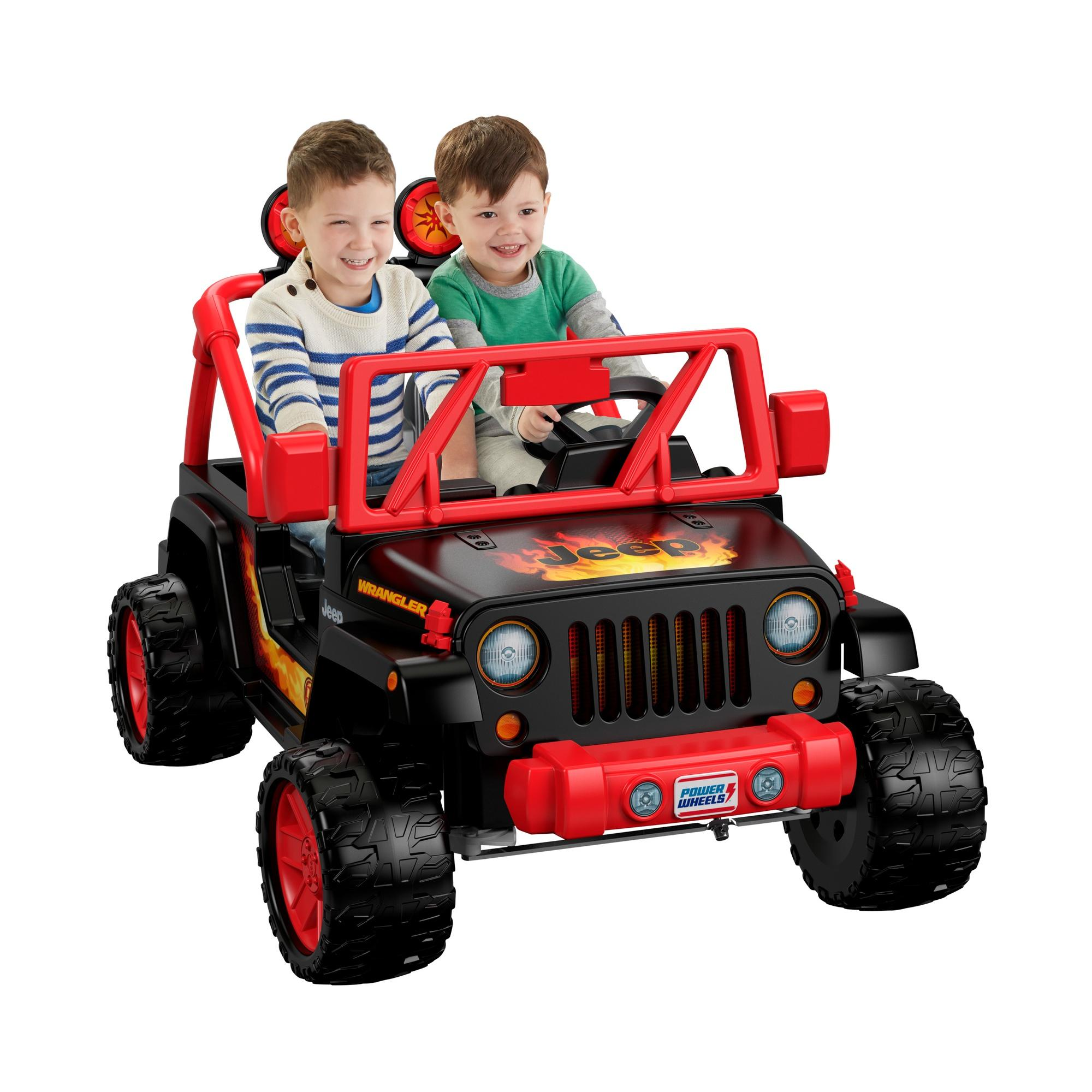 Power Wheels Tough Talking Jeep Wrangler Ride-On Vehicle by Fisher-Price