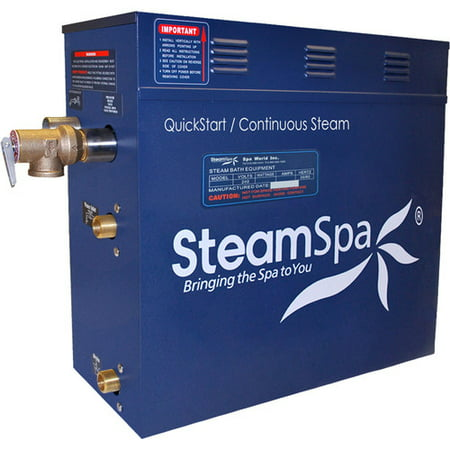 Steam Spa Indulgence 10.5 kW QuickStart Steam Bath Generator