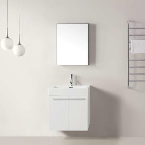 Virtu Midori 23'' Single Bathroom Vanity Set with Mirror