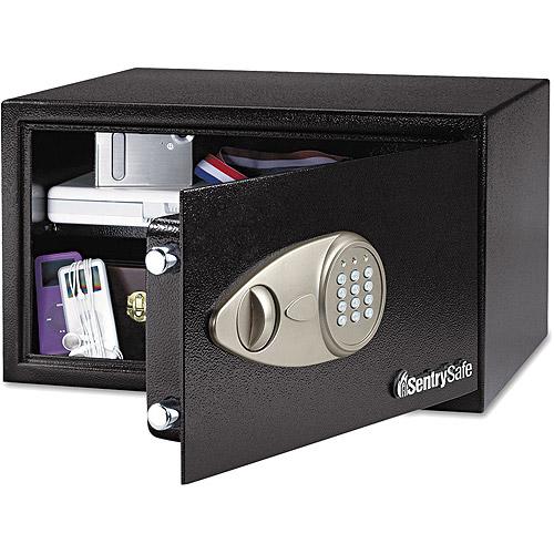 Sentry Safe Electronic Lock Security Safe, Black