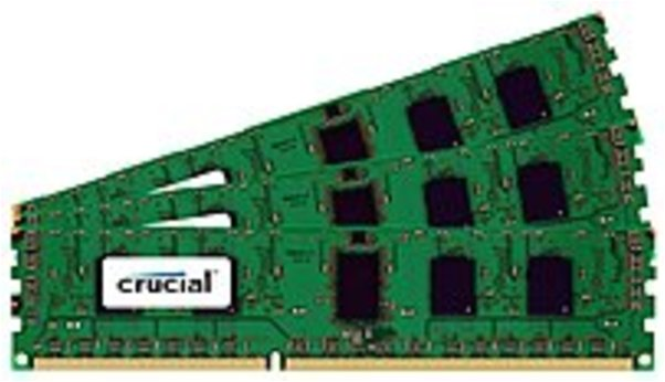 Crucial CT3CP12872BB1339S 3 GB Server Memory Module - PC3-10600 - Registered - ECC