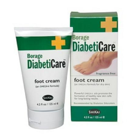 Salk - Bourrache pied diabétique Crème 4,2 oz Tube