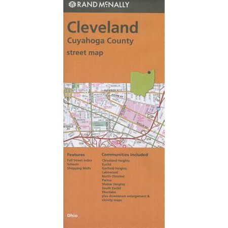 - Rand McNally Cleveland/Cuyahoga County, Ohio Street Map