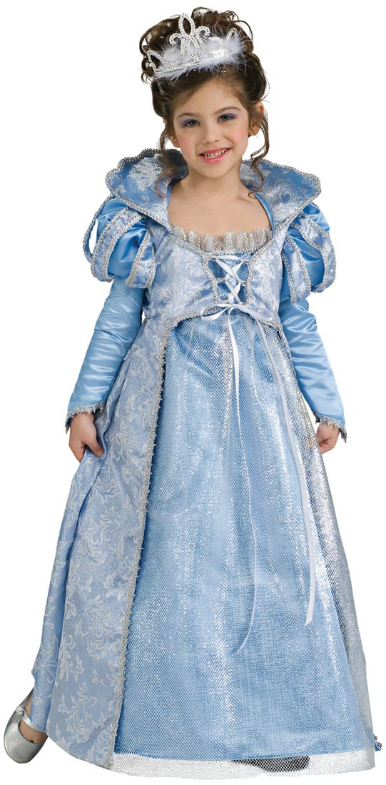 Girls Premium Cinderella Princess Costume by