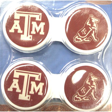 Texas A&M Aggies Contact Lens Case 2 Pack](White Contact Lenses For Sale)